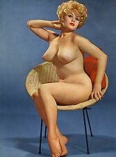 VINTAGE NUDE BLONDE BUSTY TERRY HIGGENS 8.5 X 11! BEAUTIFUL QUALITY GUARANTEED!!
