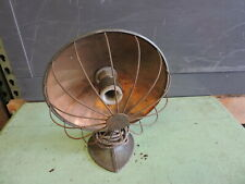 Antique Small Sterling Heat Light Lamp, Steampunk, (VAX)