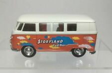 WELLY 1963 Volkswagen T1 Bus Orange White 49764 Classical Bus STORYLAND FUN BUS