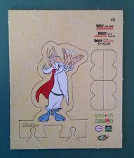 """Carte personnage n°19 """"Astérix aux jeux Olympiques"""" action MATCH CORA DELHAIZE"""