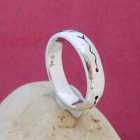 1469. Silber Ring, Silberring 925 Silber RG.54 (17,2 mm Ø)