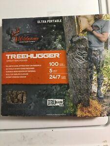 Gravity Deer FeederWildgame Innovations TREEHUGGER80 Tree Hugger  100 LB