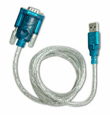 USB to RS-232 RS232 DB9 Male Adapter 9-pin Serial Cable for Windows 7/8/10 No CD