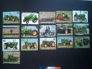 John Deere Harvest Heritage Collector Cards 16 card lot