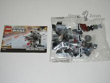 Star Wars Lego Set #75195 Microfighters Series 5 HEAVY ASSAULT WALKER + Driver