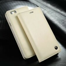 Leather Wallet Card Holder Flip Cover Case For iPhone X & 8/7/6S Plus Galaxy S8