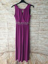 Joanna Hope Magenta Jewel Maxi Dress size 10