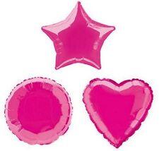 Hot Pink Star 20 Inch Foil Balloon