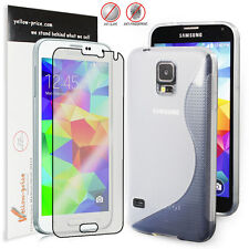 [Extreme Protection]Durable S Type TPU Case for Samsung Galaxy S5 w/Matte Screen