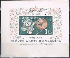 Tsjechoslowakije 1963 blok 19  Postfris MNH Cat waarde € 10