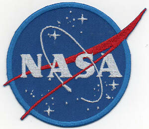 PATCH RICAMO TOPPA NASA