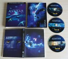 COFFRET 3 DVD EDITION COLLECTOR VERSION LONGUE AVATAR JAMES CAMERON'S