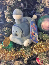 Prestige RARE BLUE Train with Square Wheels Rudolph Misfit Toys 6 inch Plush NWT