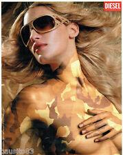 PUBLICITE ADVERTISING 046  2006  Diesel   lunettes solaires