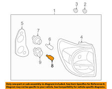 TOYOTA OEM-Tail Light Bulb 9098115011