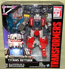 BLUNDERBUSS & BROADSIDE Transformers Generations Titans Return Voyager 2017