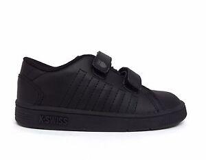 K-Swiss Kids' Toddler's LOZAN STRAP DX Sneakers Black 21514-001 a2