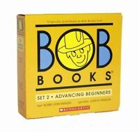 Bob Books Set 2: Advancing Beginners (Paperback or Softback)