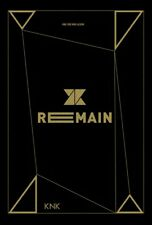 KNK [REMAIN] 2nd Mini Album CD+Photobook+Photocard+Standing Photo K-POP SEALED