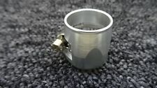 AN-10 (AN10) 20MM SILVER HOSE END FINISHER JUBILEE CLIP CLAMP FIT ALFA ROMEO