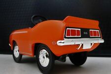 1969 Camaro Chevy Pedal Car A Vintage Metal Show Muscle Car Hot Rod Midget Model