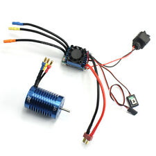 RC Racing Brushless Combo 60A ESC Speed Controller + 12T 3330KV Motor F17289-C
