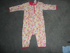 baby girl's Gap cotton body suit pink 3-6 months long sleeves and legs