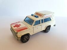 MAJORETTE Nr 269 Jeep Wagoneer Ambulance / Made in France / scale 1:64