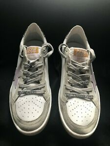 Golden Goose Ball Star Trainers White Size 37