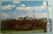 Skyline Downtown in the Distance DALLAS TEXAS TX Vintage Postcard