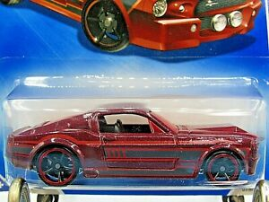 HOT WHEELS VHTF 2009 MUSCLE MANIA SERIES 67 SHELBY GT-500