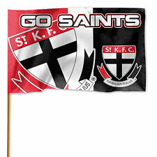 149fe3c03aa ST Kilda Saints AFL GAME DAY Flag Banner WITH Pole Fathers Man Cave