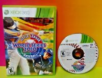 Little League World Series Baseball  - XBOX 360 - Rare Game Tested 1-4 Players