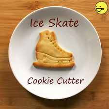 Ice Skating Shoe cookie cutter   figure skate competition biscuit rink hockey