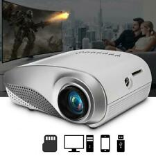 1080P Full HD Mini 3D Projector LED Multimedia Home Theater USB VGA HDMI TV AV