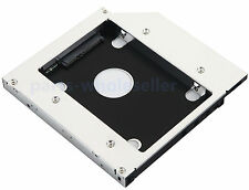2nd SATA Hard Drive HDD SSD Case Fame Caddy for Asus G73Jh G73Jw G73Sw G74 G74XS