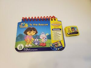 Leap Frog My First Leap Pad DORA To The Rescue LeapPad Book & Cartridge Works