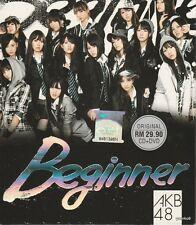 AKB48 CD 18th single Beginner + DVD Theater Version Region All