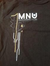 "District 9 Movie Multi-National United Rock Me Black 100% Cotton T-Shirt L 40"""