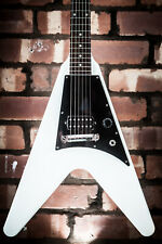 AWESOME GIBSON USA 2011 WHITE FLYING V MELODY MAKER MAPLE BODY