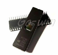 10PCS M27C160-50F1 ST IC EPROM UV 16MBIT 100NS 42CDIP M27C160 NEW