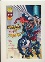 Spider-Man 2099 Meets Spider-Man 1995 Marvel One Shot! SEE SCANS! RARE KEY! WOW!