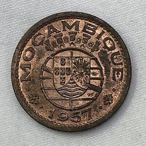 Mozambique 1957 50 Centavos Unc