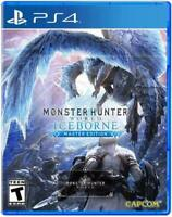 Monster Hunter World: Iceborne Master Edition PlayStation 4 Brand New Sealed PS4