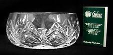 "Galway Irish Crystal Bowl - Kylemore Pattern -  7"" w/tags - No Box"