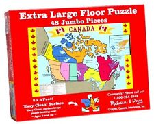 Melissa & Doug Canada Map Floor (48 pc) (NEW) 428