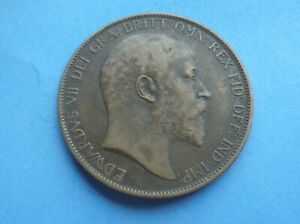 1903 Penny, Edward VII, as shown.