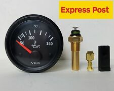 VDO VISION 52mm 12v ELECTRIC OIL TEMP GAUGE + SENDER AUTOMOTIVE MARINE 4WD