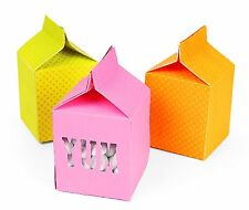 Sizzix Milk Carton Movers & Shapers L die #659196 Retail $31.99 SO MUCH FUN!