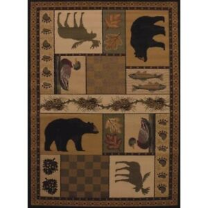 NWT Pine Montage Runner Rug United Weavers Bass Pro Shop